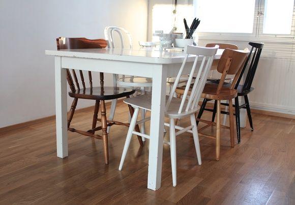 pinnatuoli,huonekalut,keittiö,kierrätys,vanhat kalusteet