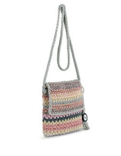 The Sak Casual Classic Flap Crossbody Festive Stripe Ladies Purse Handbag | eBay