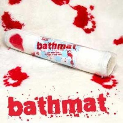 Tapis de bain sanglant tapis de bain original boutique Tapis de bain original
