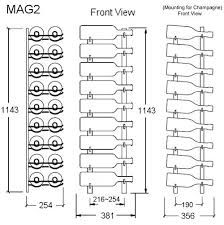 Image result for wine rack dimensions (With images ...