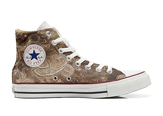 Converse Custom Slim personalisierte Schuhe (Handwerk Produkt) Quirky Paisley  35 EU