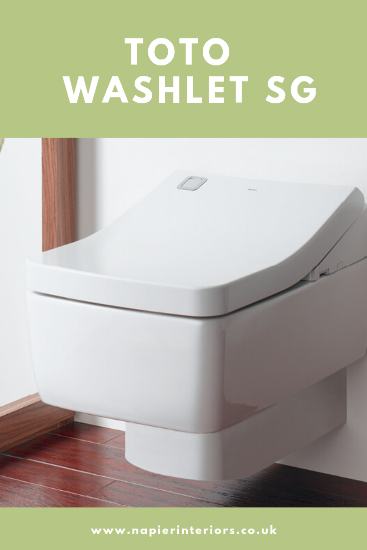 The SG WASHLET offers all the features available in all