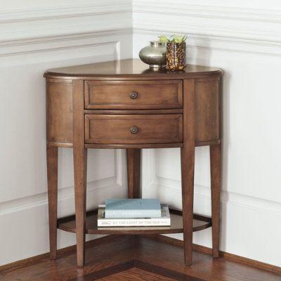 Nice corner table | House | Pinterest | Corner, Entry ...