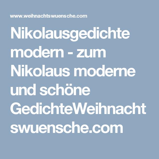 Nikolausgedichte Modern Zum Nikolaus Moderne Und Schone Gedichteweihnachtswuensche Com Nikolausgedichte Nikolaus Spruch Kinderreime