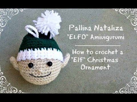 Tris di sfere natalizie Babbo Natale-Elfo-Pupazzo di neve crochet ...   360x480