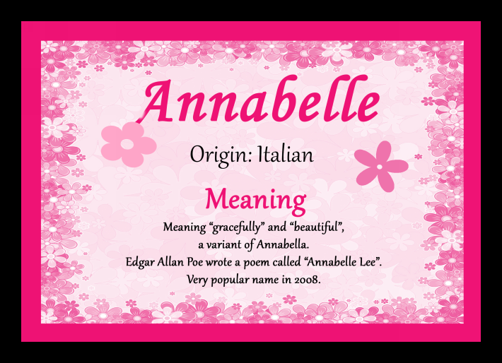 006 meaning of the name annabelle Google Search All Sorts