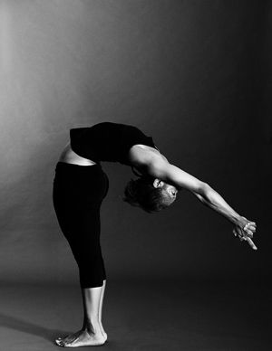 halfmoon pose ardha chandrasana  bikram yoga yoga