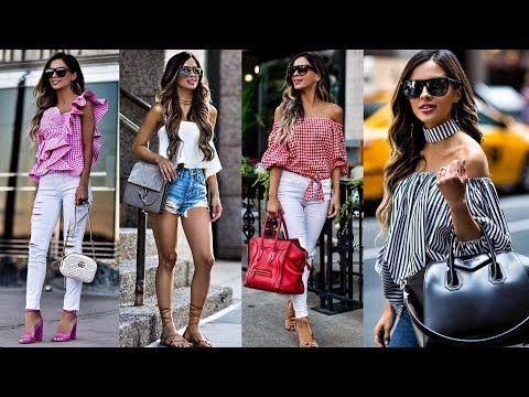 8c5df7aa32 TENDENCIAS 2018 ⏩ MODA 2018 COMBINACIONES DE ROPA PARA MUJER  fashionistamoda - YouTube