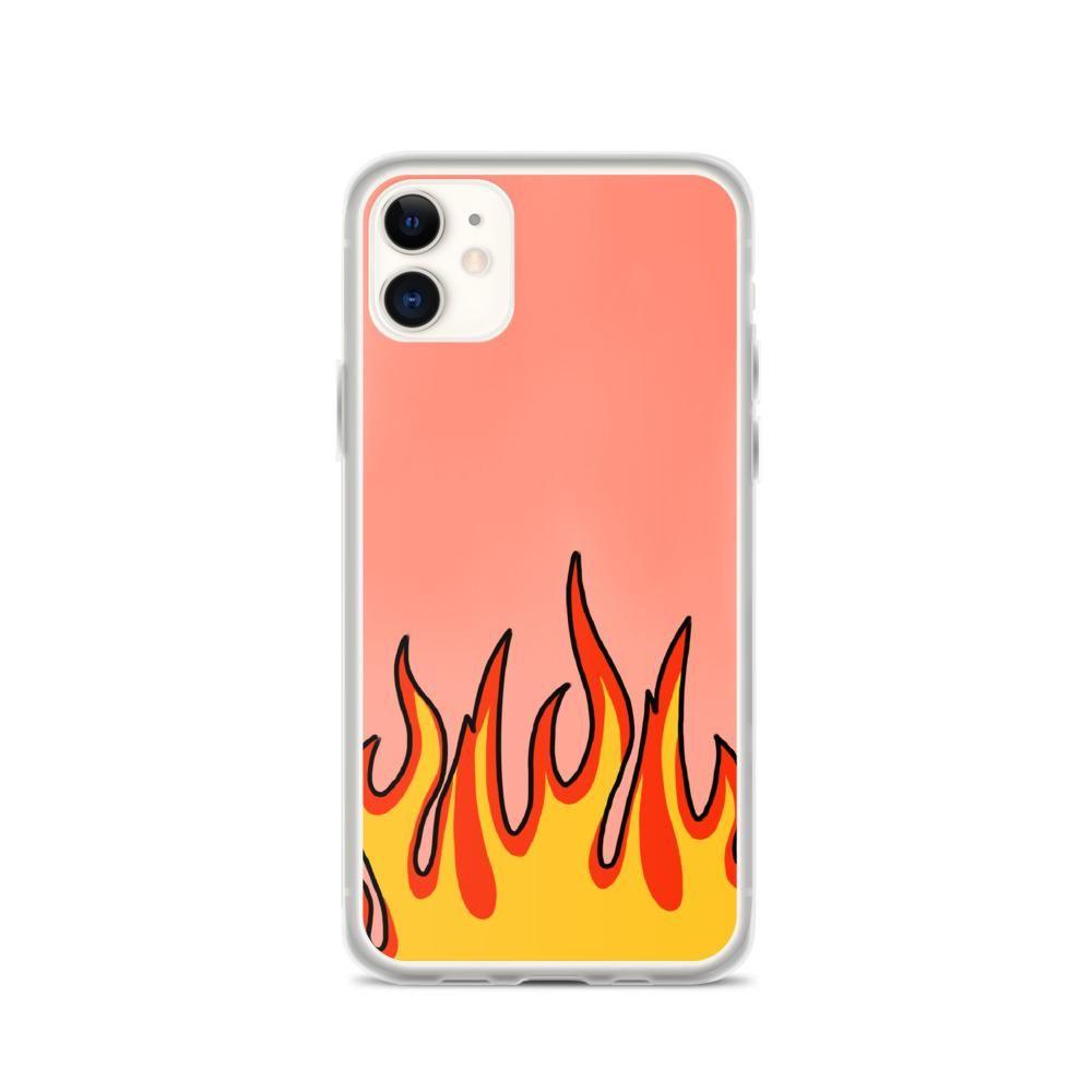 Funda Con Dibujo De Fuego Fundasmolonas Shop Fundas Fundas Para Iphone Fundas Personalizadas Iphone