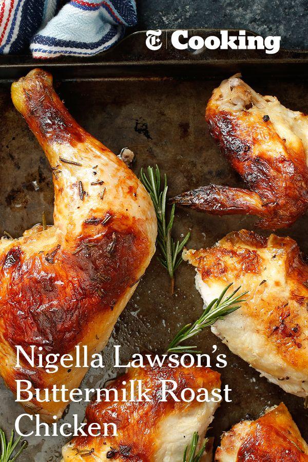 Buttermilk Roast Chicken Recipe Recipe Nyt Cooking Roast Chicken Recipes Nigella Lawson Recipes