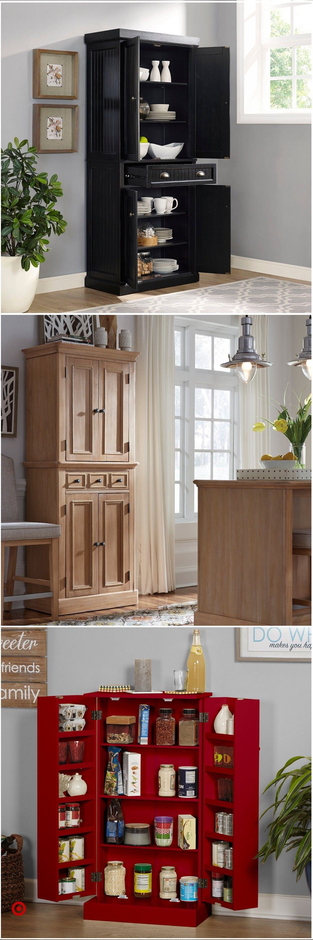 Shop Target For Kitchen Storage Pantry You Will Love At Great Low Prices Free Shipping On Kitchen Storage Kitchen Pantry Design Small Pantry Organization