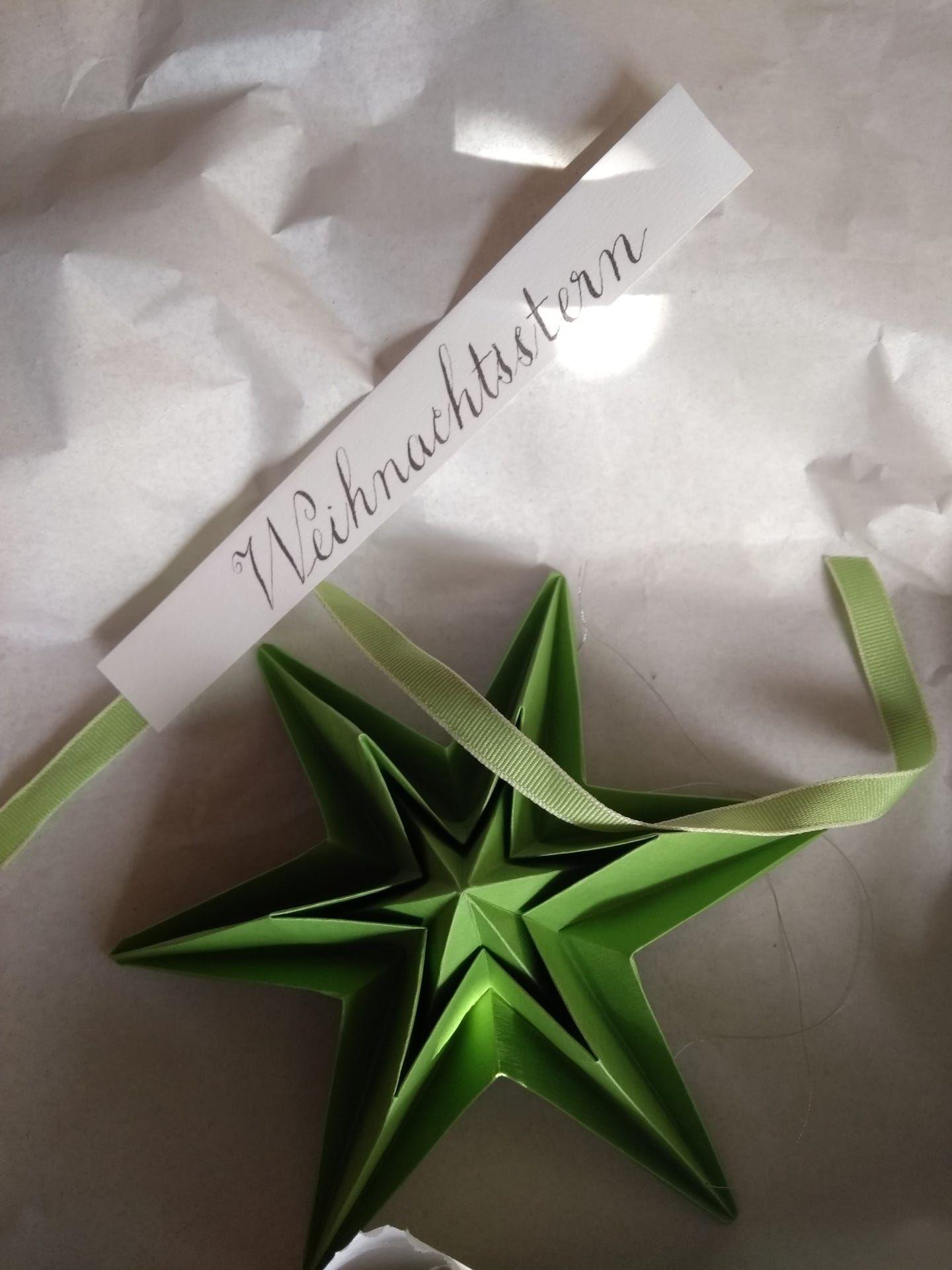 Landlust Stern Sterne Basteln Fur Weihnachten Basteln Weihnachten Sterne Falten Weihnachten