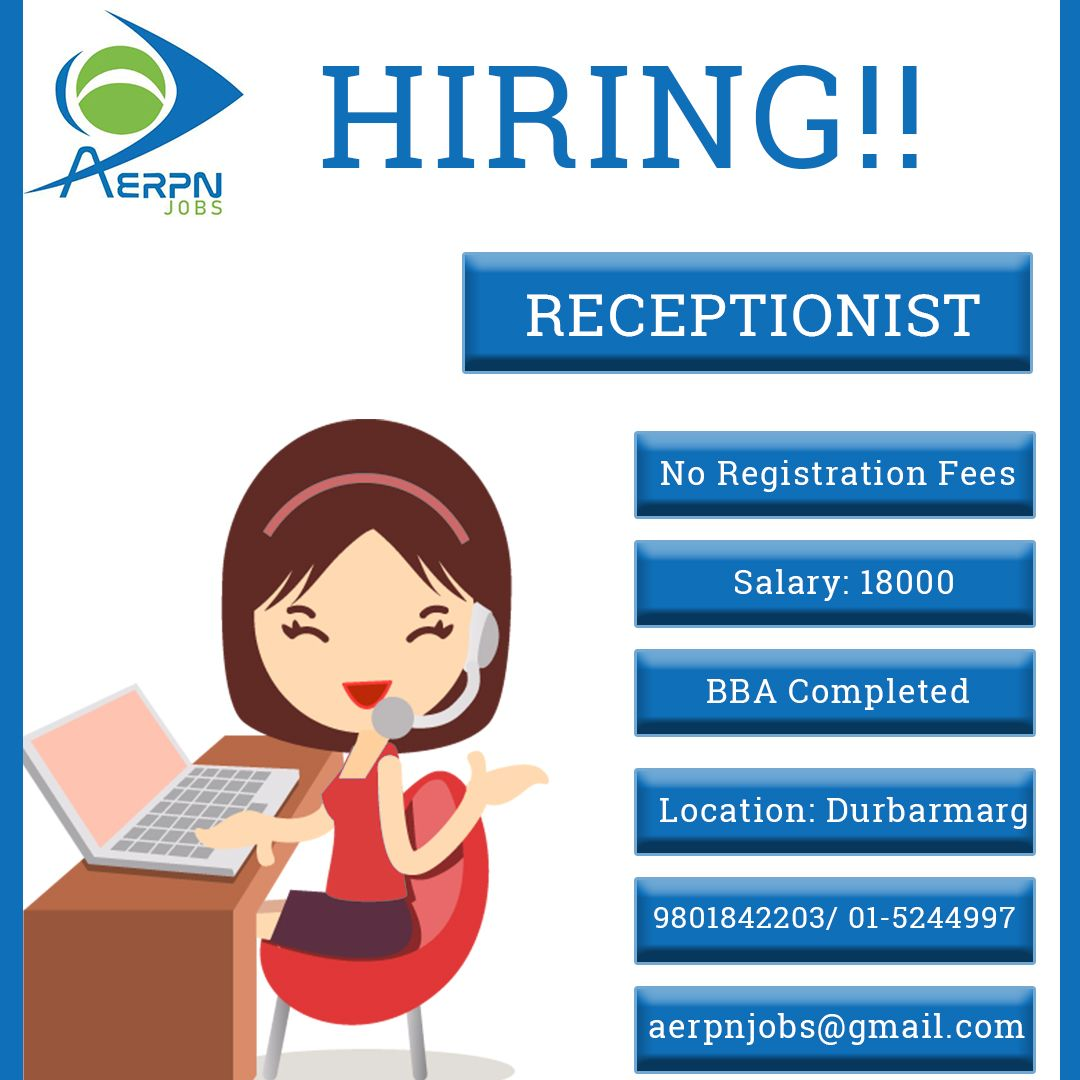Right People, Right Place  #job #receptionist #hiring #bba #college