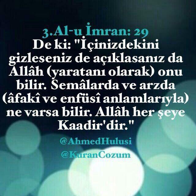 Al-u İmran 29