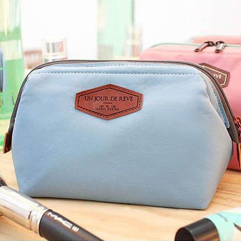 2016 HOT Women Cosmetic Bag Organizer Bag Portable Multifunctional Travel Pockets Handbag Makeup Bag High Quality F328