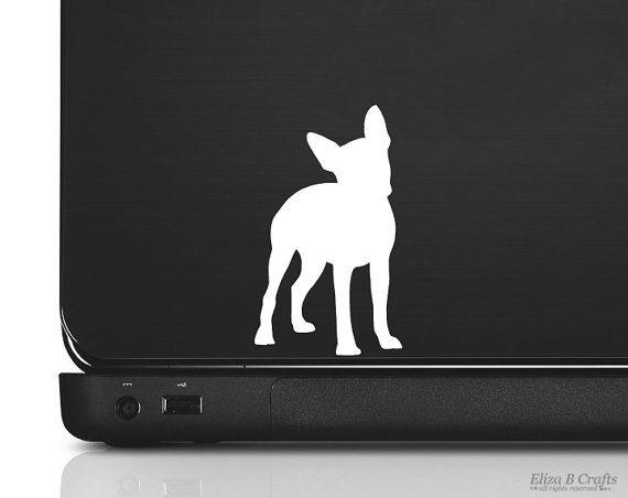 Boston Terrier Silhouette Vinyl Sticker Decal  by silhouetteMYpet, $4.00