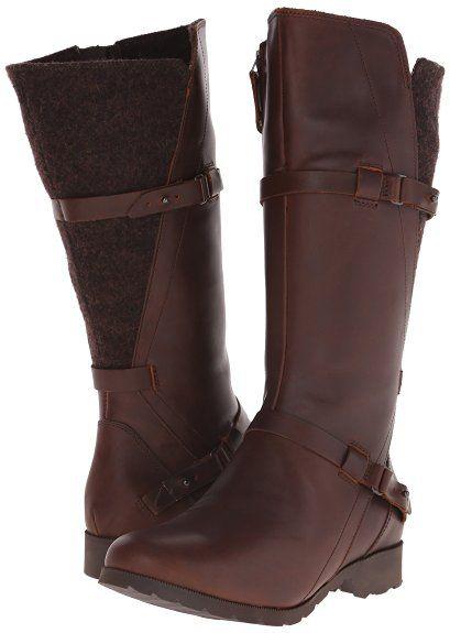 Womens Teva Women's Delavina Wool Tall Boot Outlet Online Size 39