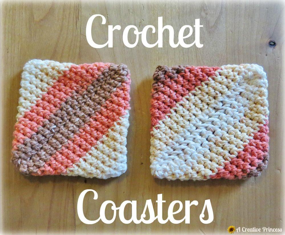 A Creative Princess: Crochet Coasters   Crochet/ coasters ...