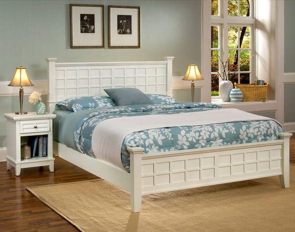 Weiße Schlafzimmer Möbel   Schlafzimmer weiß, Blaue ...