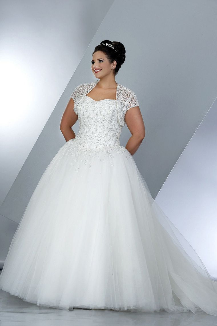 Plus Size Wedding Dresses Ball Gown | Ball gowns, Wedding dress and ...