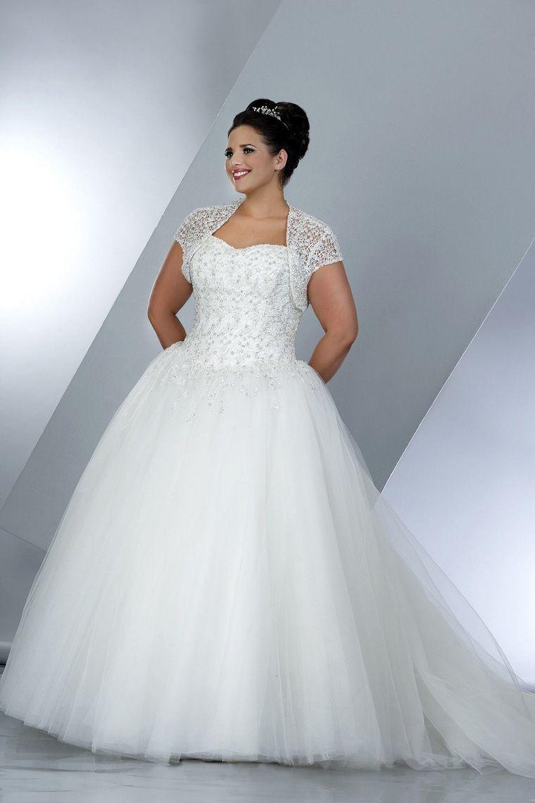 Plus Size Wedding Dresses Ball Gown | Plus size bridal ...
