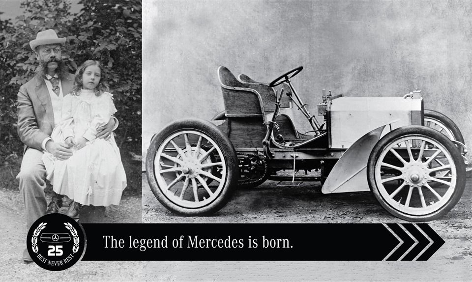 In 1901 Emil Jellinek Asked Wilhelm Maybach To Design Cars With