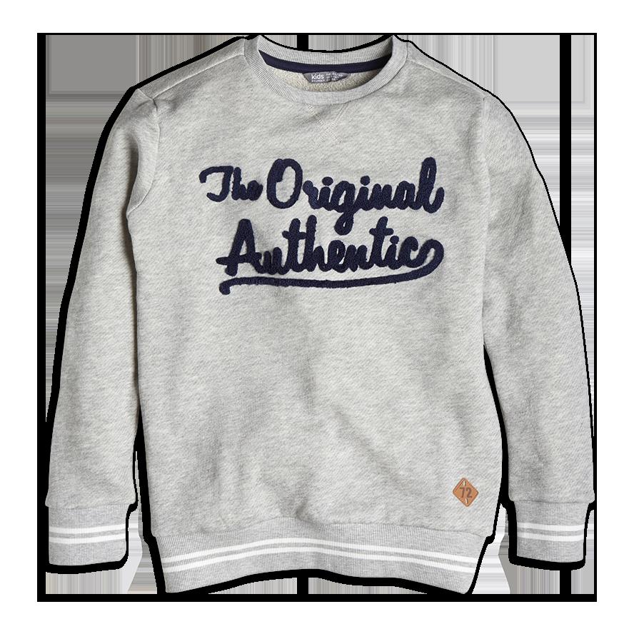 Sweatshirt, Hvit, Gutt 128-170 cm, Barn | Lindex
