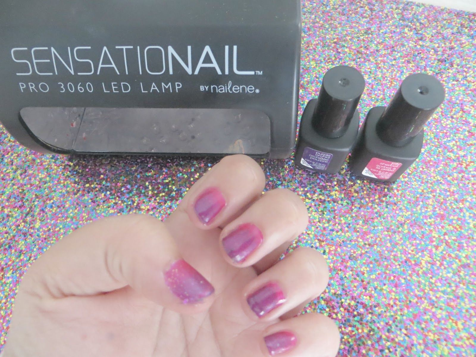 Ombre Gel Nails With SensatioNail   from the Elle Sees Blog ...