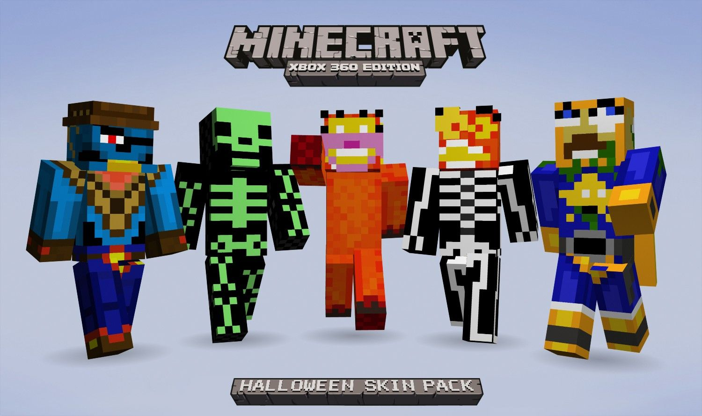 Minecraft Skin Halloween Pack HD Wallpaper