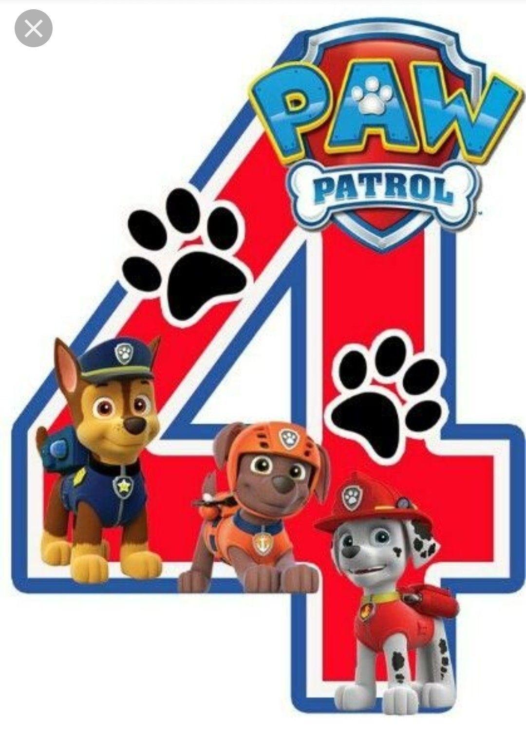 anniversaire paw patrol