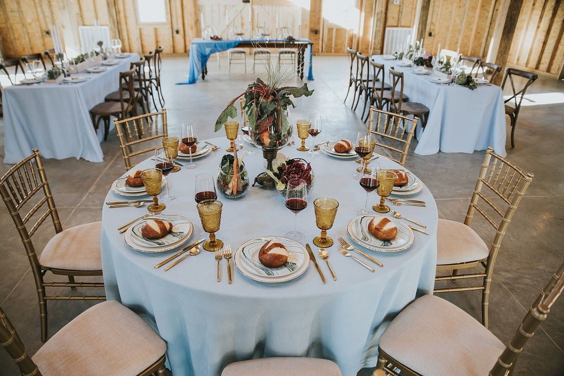 Blue & Gold Wedding at Charlyn Farms - Greenville, SC