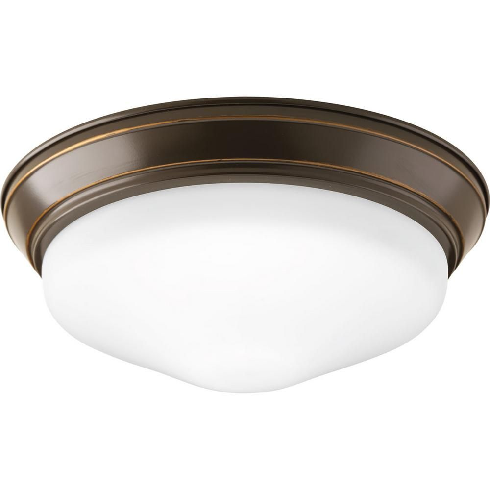 Progress Lighting 11 In Flush Mount Collection 17 Watt Led Flush Mount Progress Lighting Flush Mount Lighting