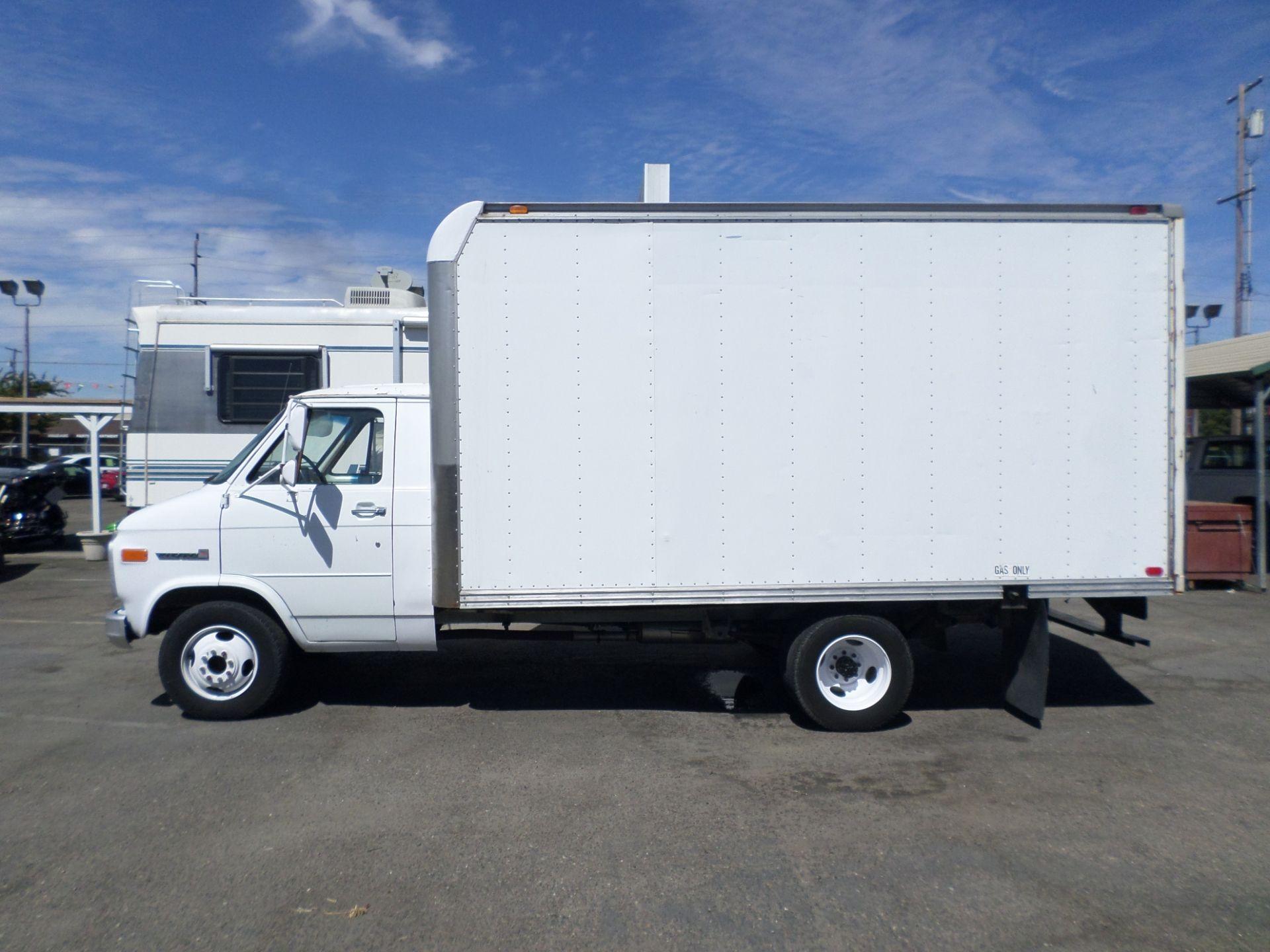 Commercial Equipment For Sale 1986 Gmc Vandura Box Van In Lodi Stockton Ca Box Van Chevrolet Van Gmc
