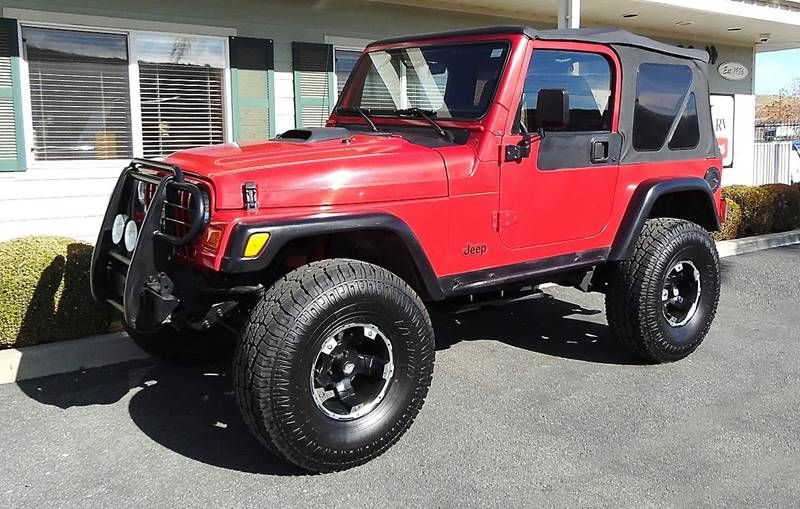 Used 2000 Jeep Wrangler 4.0 Sport Automatic for sale in