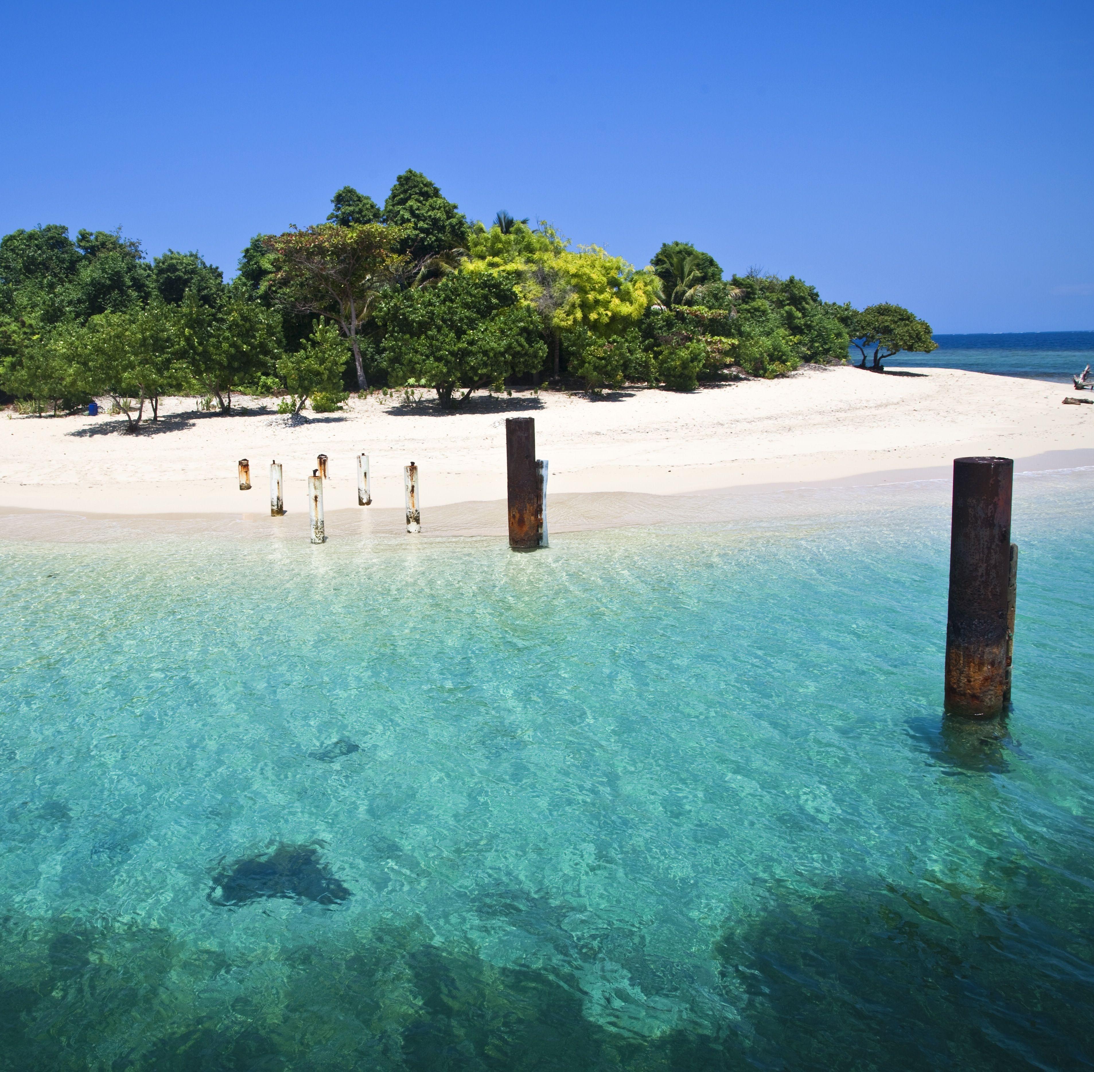 Take a catamaran to your own private beach. #caribbean