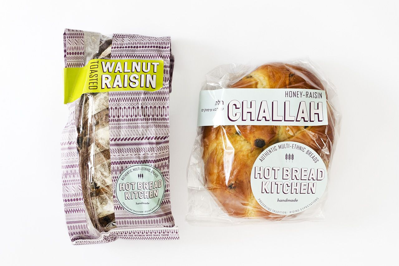 The packaging uses a scalable system of pre-printed and clear bags ...