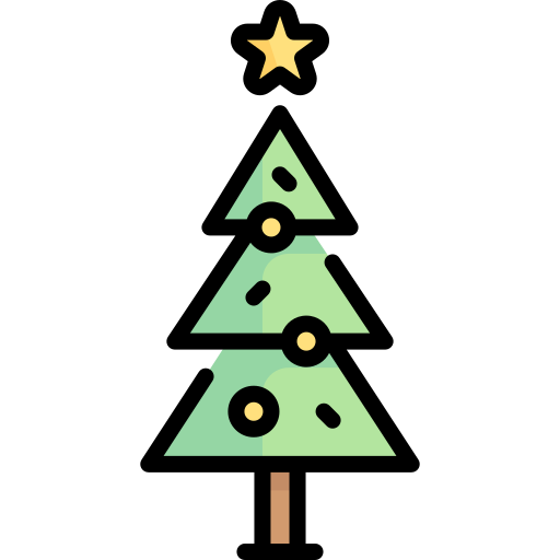 Christmas Tree Free Vector Icons Designed By Freepik In 2020 Vector Icon Design Tree Icon Vector Free