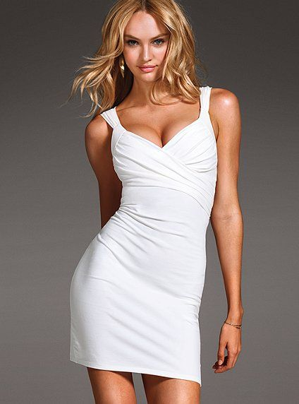 Cross Front Bra Top Dress Victoria S Secret I Would Wear White If Only Weren T Such A Frikkan Slob