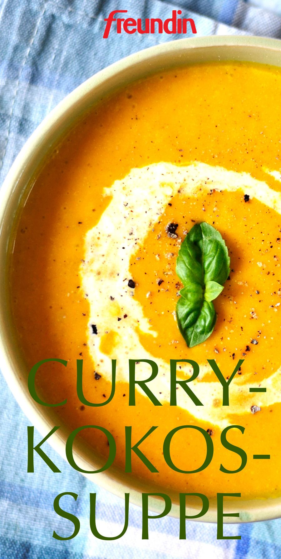 Photo of Summer Recipes: Coconut Curry Soup freundin.de