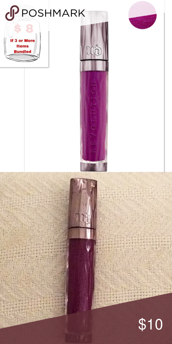 New URBAN DECAY Revolution High Color Lipgloss Brand new