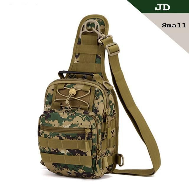 Outdoor Sling Chest Pack Shoulder Crossbody Bag for Sports Hiking Climbing
