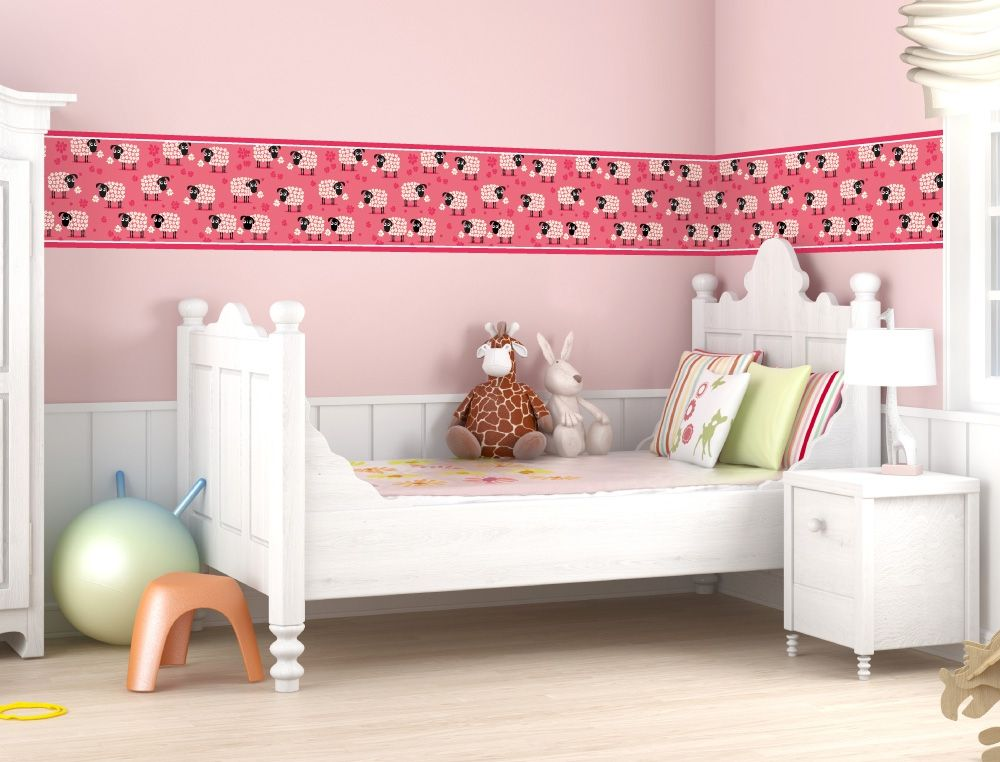 schafe als bord re f r kinderzimmer i love kinderzimmer bord re m dchen. Black Bedroom Furniture Sets. Home Design Ideas