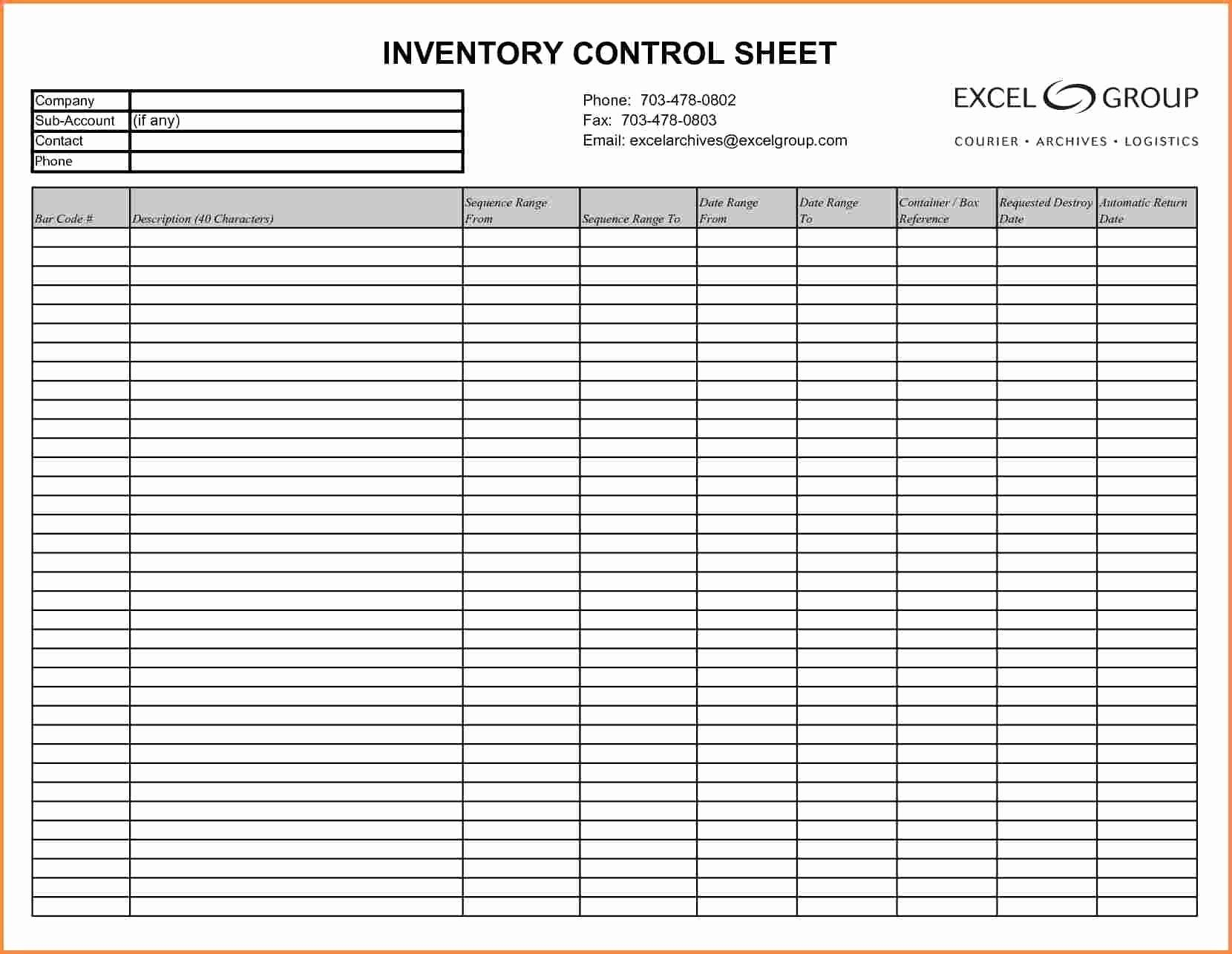 Inventory Tracking Excel Template Free In 2020 Spreadsheet