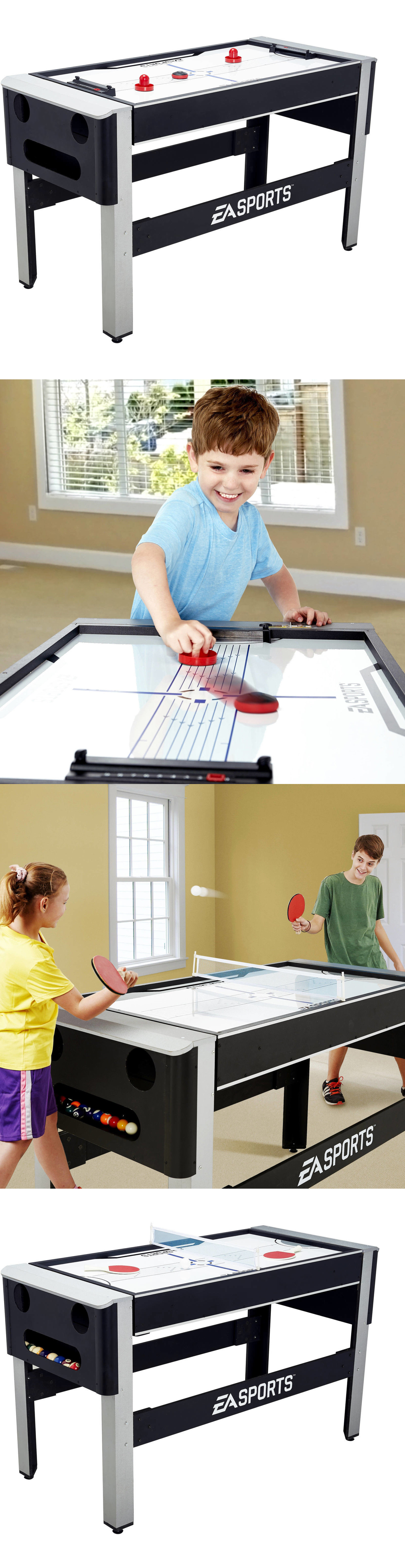 Other Indoor Games 36278: 4 In 1 Swivel Combo Table 4 Games W