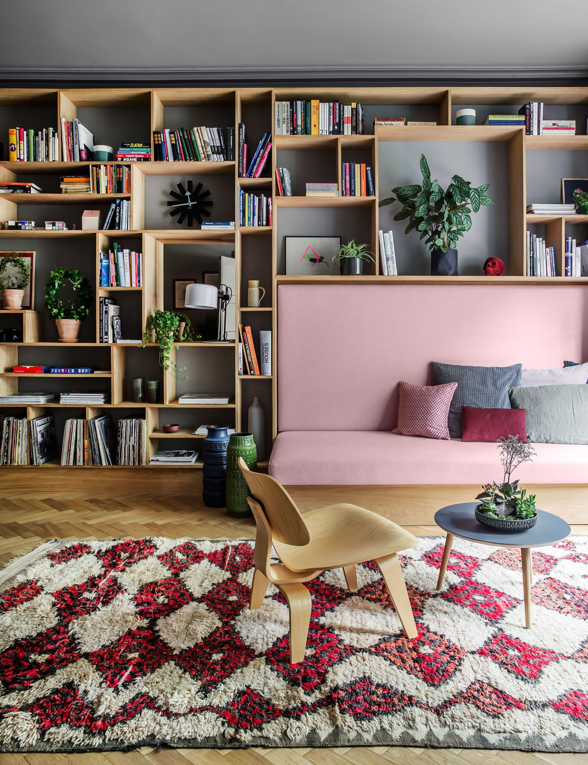 This small apartment uses cleverly designed storage to ...