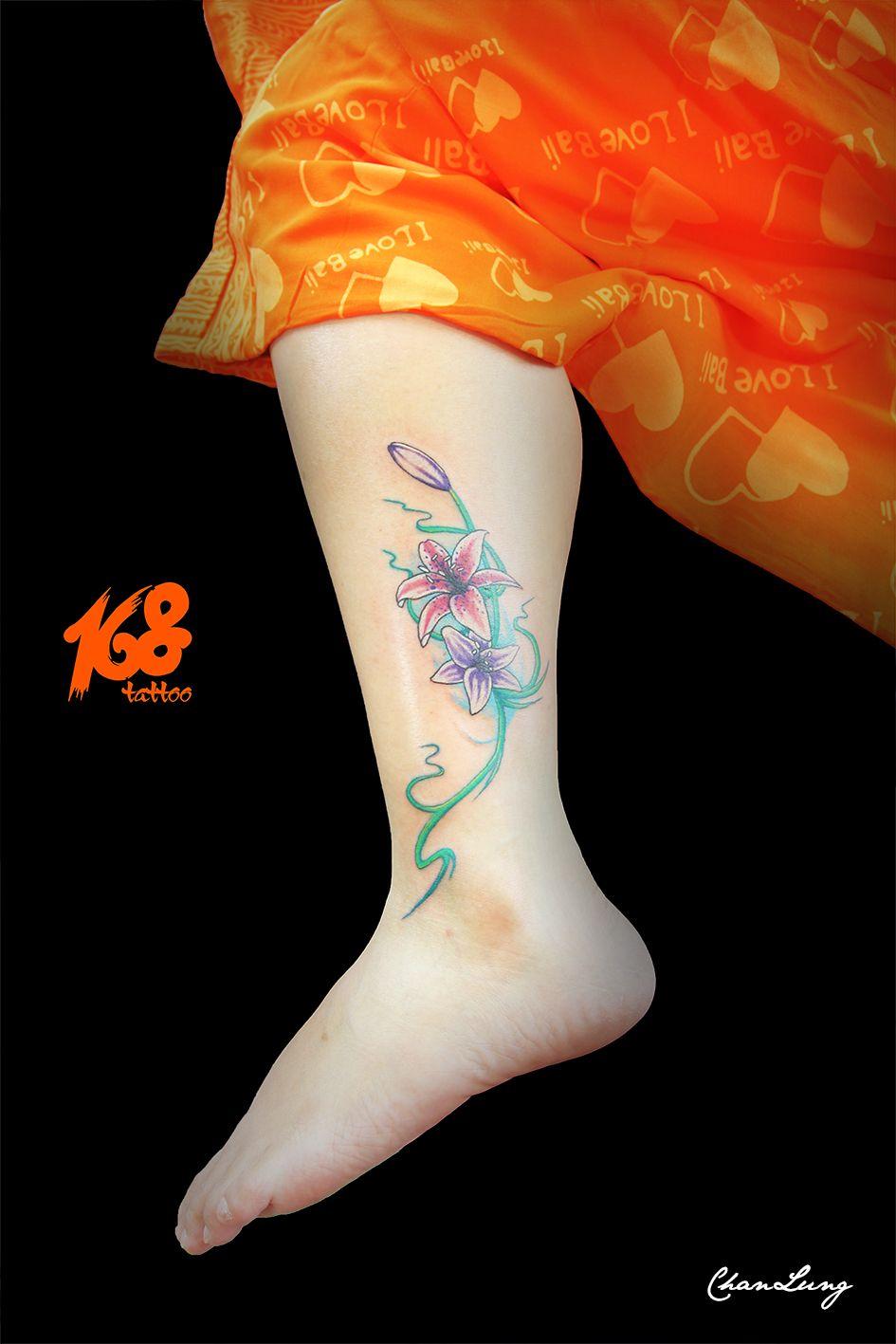 Lily tattoo my tattoo artwork pinterest tattoo