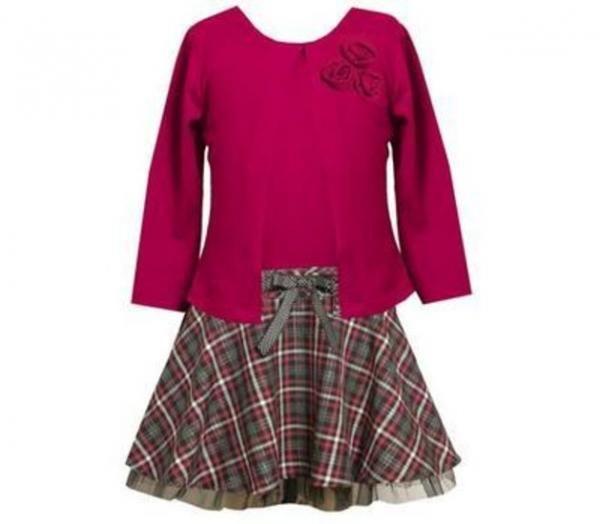 tween girls plus size fall & Winter | Bonnie Jean Girls Dress Size ...