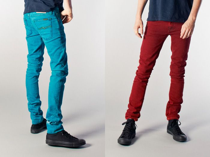 mens colored jeans denim - Jean Yu Beauty