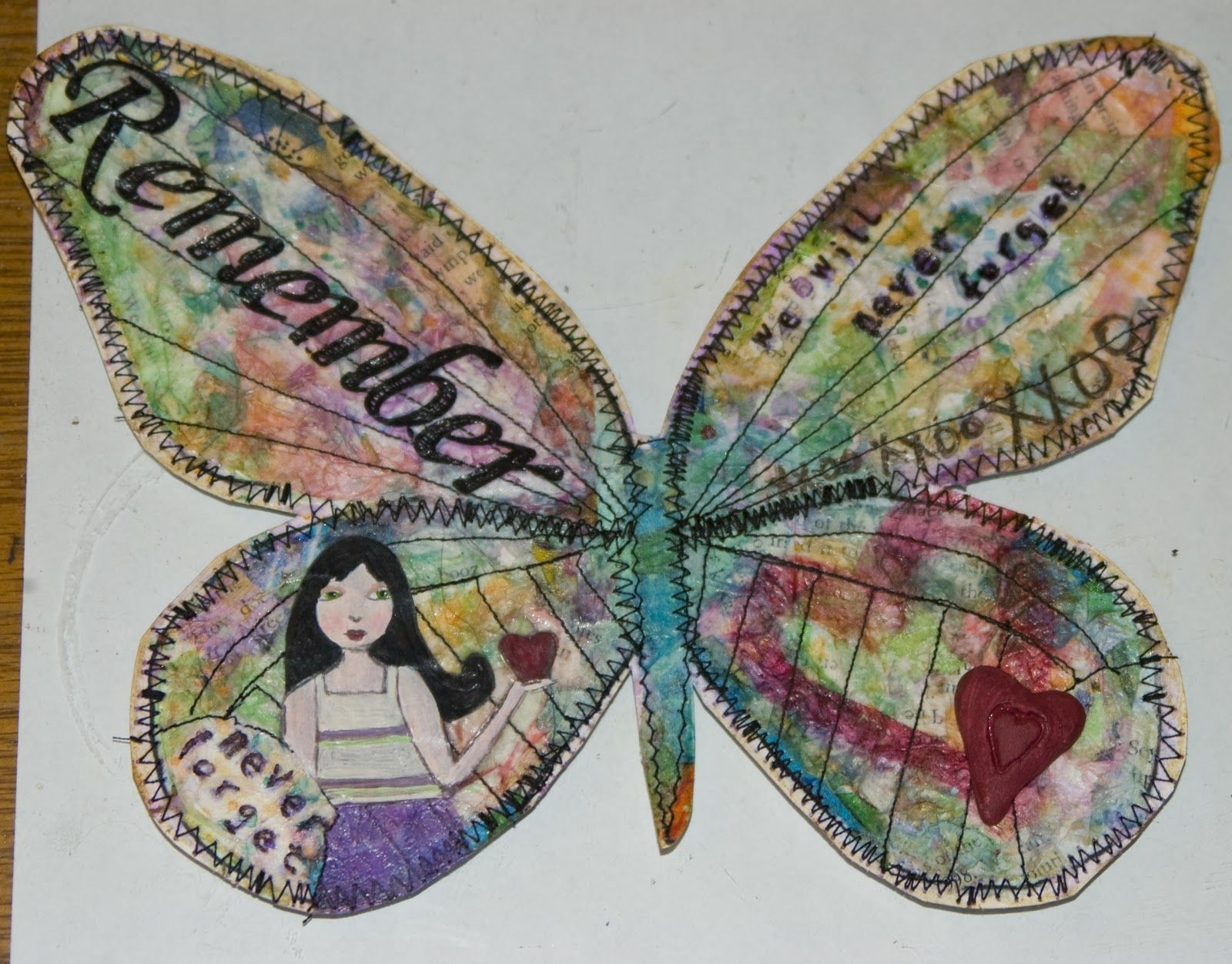 "the butterfly project for ""the diary of anne frank"" 