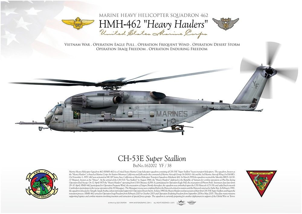 UNITED STATES MARINE CORPSMARINE HEAVY HELICOPTER SQUADRON 462 (HMH ...